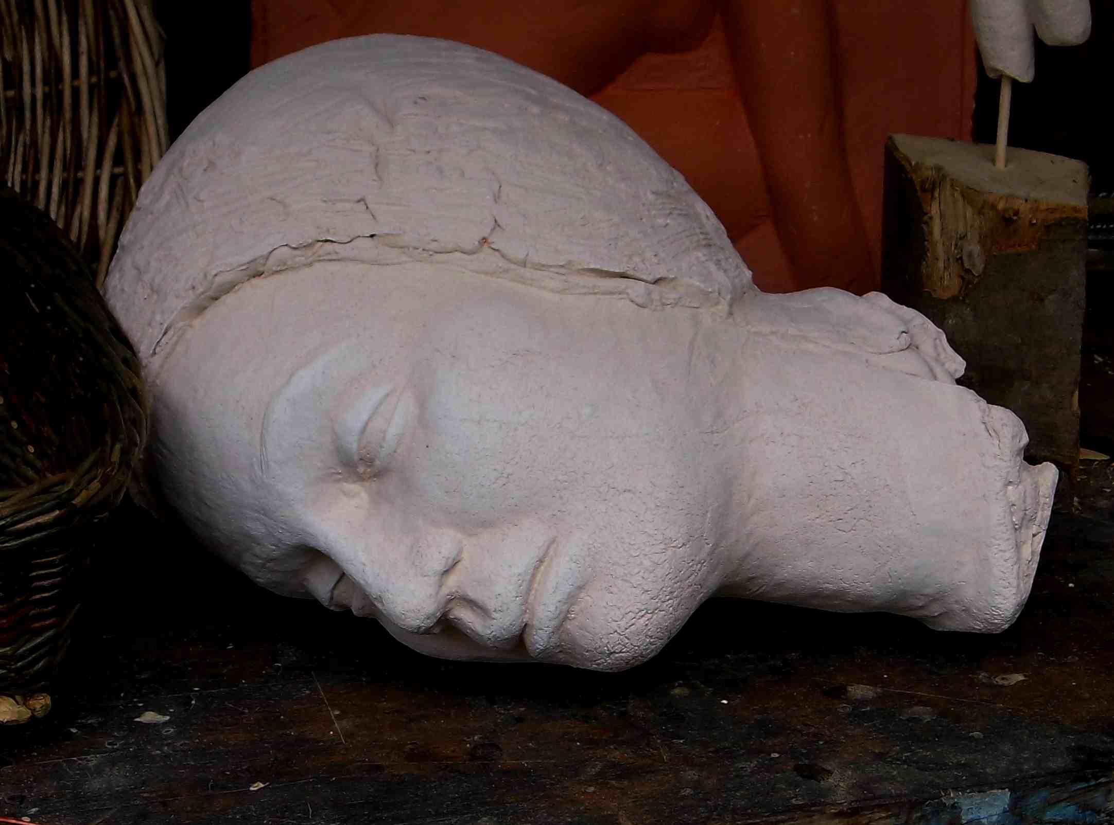 Kopf, Terrakotta