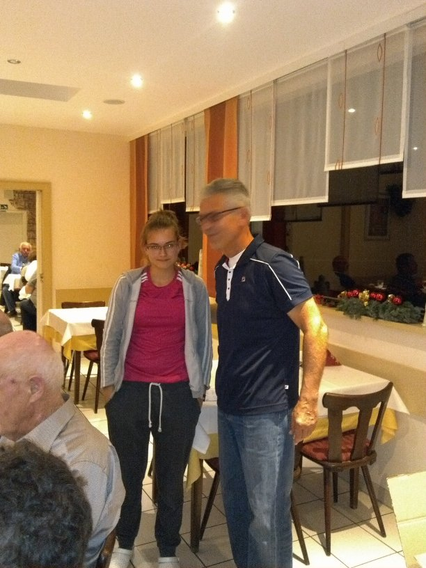 2. Platz Isabella Laubach, Meinhard Jungmann