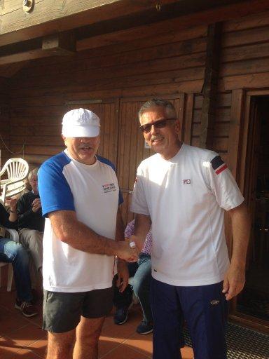 2. Sieger Reiner Laubach + Meinhard Jungmann