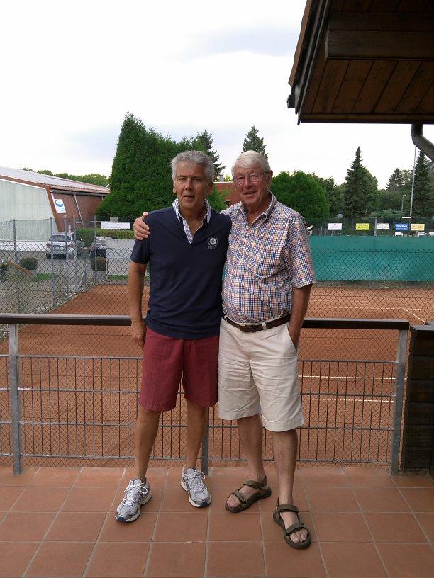 GW - Vorstand: Meinhard Jungmann (links), Dr. Hans Schomäcker