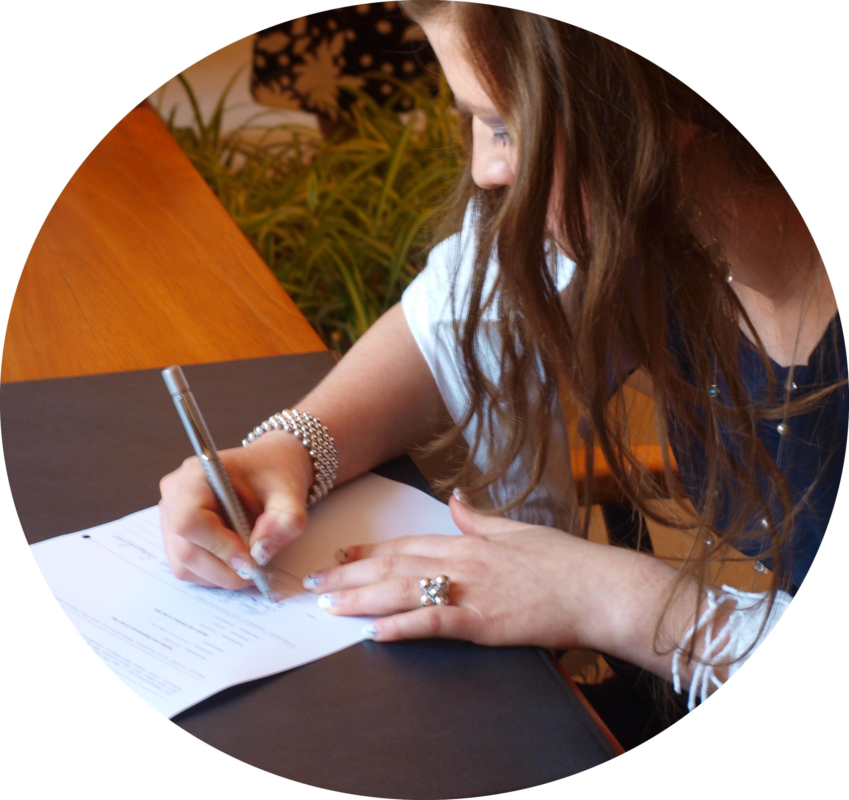 Dokumente unterschreiben