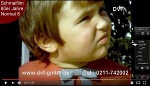 Schmalfilm digitalisieren ab 50er Jahre in bester Qualität von DVF GmbH auch in HD1080p UHD 4K 2160p.