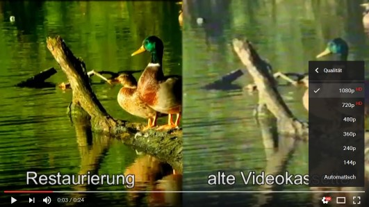 Video digitalisieren wir für Sie auf Wunsch in höchster Qualität, optional auch in HD 1920x1080.  DVF GmbH Düsseldorf, Wertheimerstr. 9 - keine Fremddienstleister.