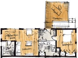 Umbau eines Dentallabors zu einer Loftwohnung Obertshausen