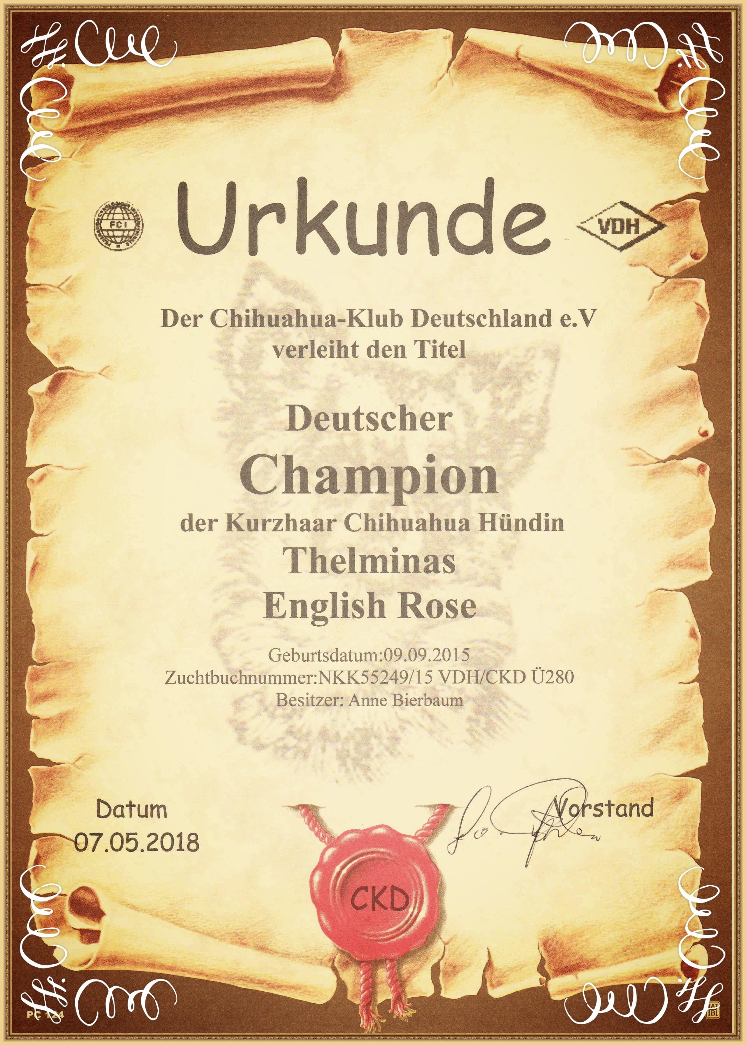 Deutscher Champion CKD
