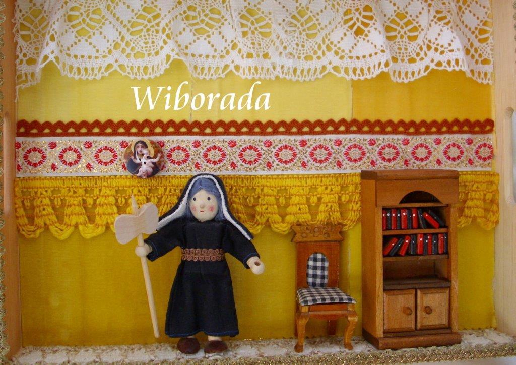 Heilige Wiborada (c) Uta Möhler