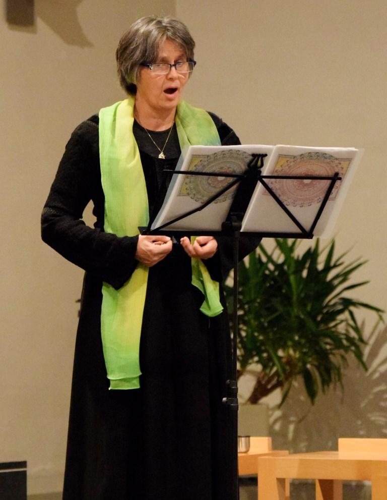 Gertrud Maria Güra (Sopran) - Hildegard von Bingen: Die Grünkraft, 9.11.2017, St. Peter & Paul, Inzlingen