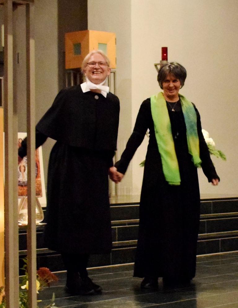 Schwester Ursula Zimmermann & Gertrud Maria Güra, 9.11.2017 - Hildegard von Bingen: Die Grünkraft, 9.11.2017, St. Peter & Paul, Inzlingen