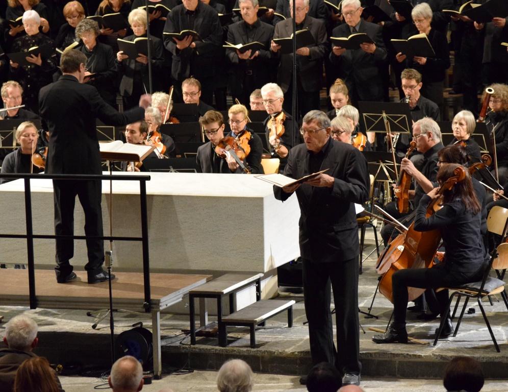 Rainer Pachner (Bariton), Brahms: Requiem, 12.11.2017, St.Peter, Lörrach