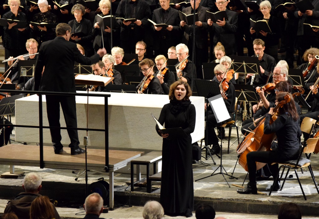 Andrea Nübel (Sopran), Brahms: Requiem, 12.11.2017, St.Peter, Lörrach