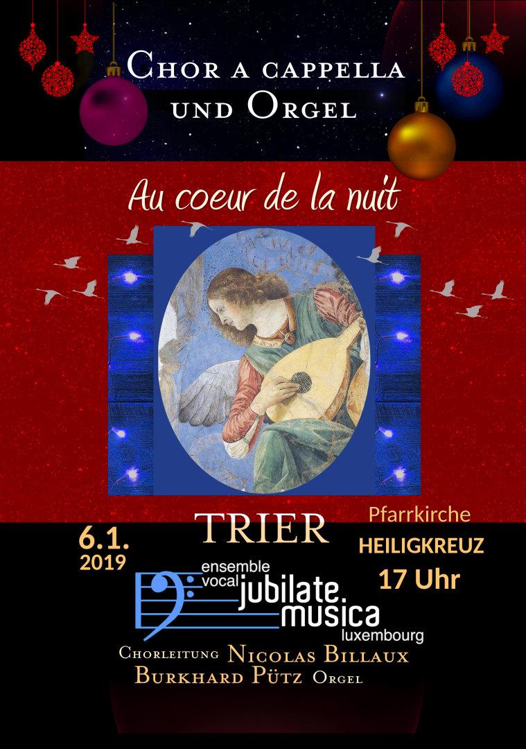 Chor- und Orgelmusik zur Weihnachtszeit 6.1.2019