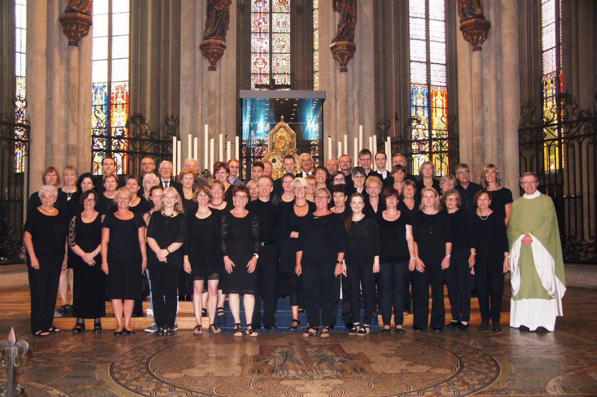 Chorgemeinschaft Heiligkreuz im Kölner Dom