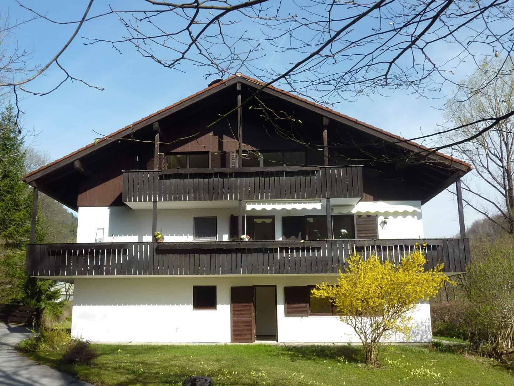 Erdgeschosswohnung in Schliersee