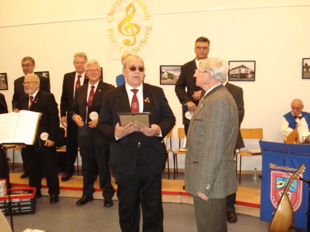 Ehrenmitgliedschaft für Kaspar Bergheim