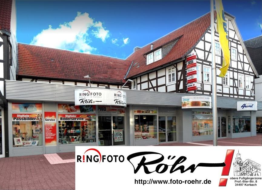Foto Röhr (Ringfoto) - Ihr Foto- und Bilderspezialist in Korbach
