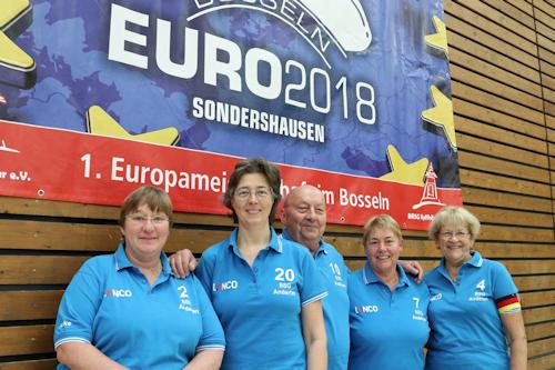 Im April 2018 fahren die Damen zur Euro 2018!