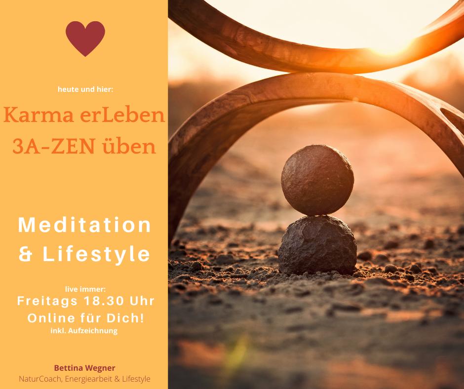 Jede Woche neue Meditationsimpulse und Anleitungen für Dein SeelenGLÜCK und mehr Harmonie im Leben