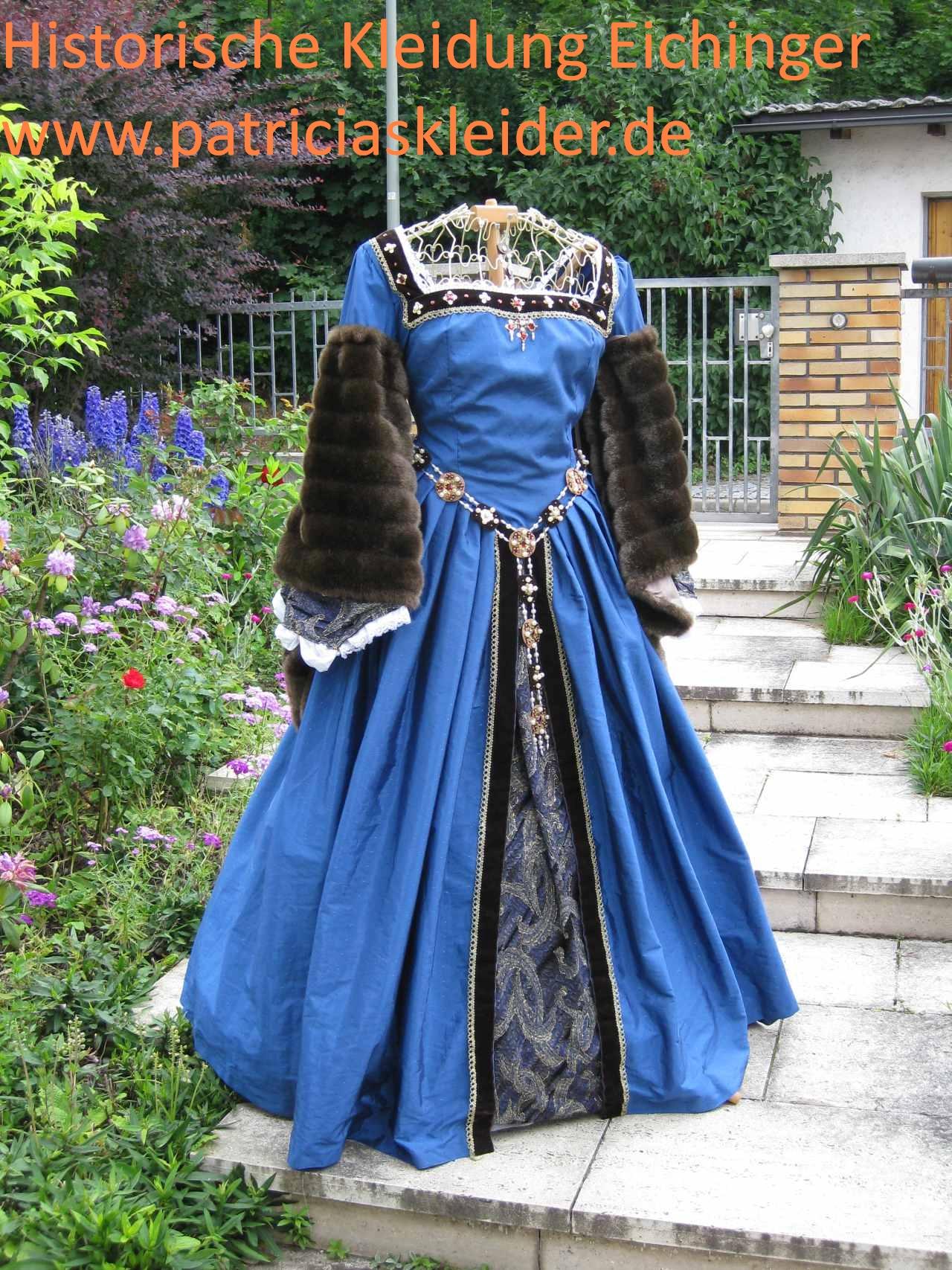 Renaissancekleid - Tudorkleid England um1530