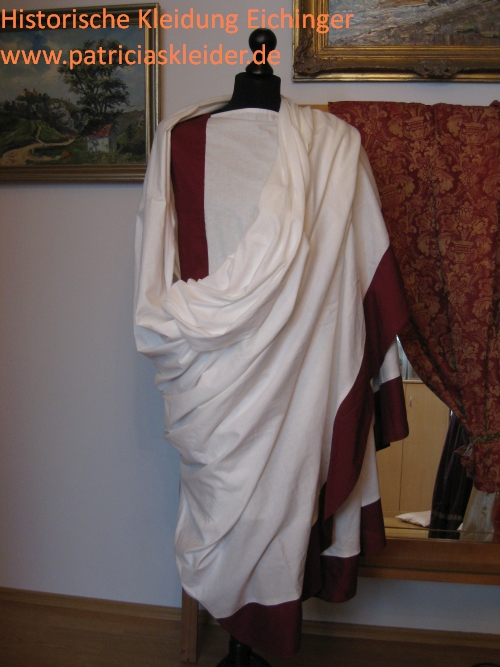 Anlegen einer römischen Toga